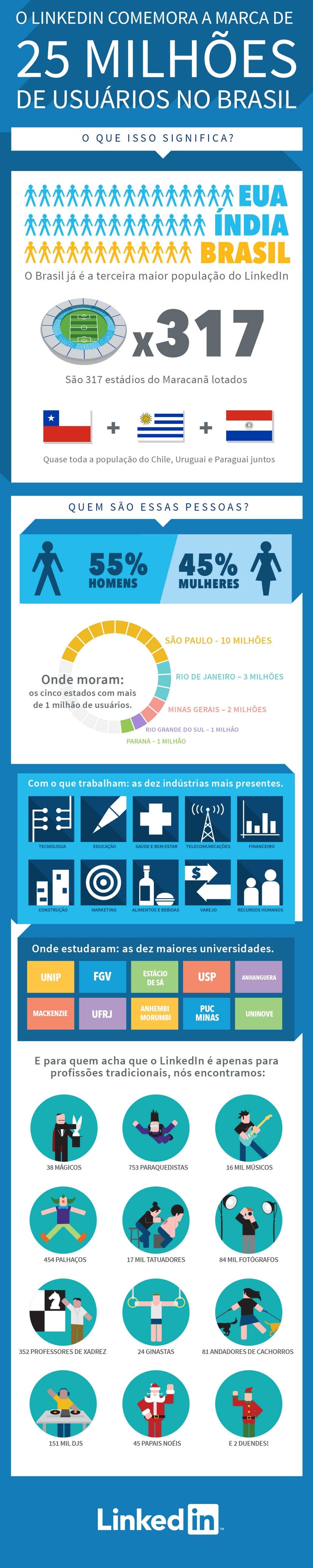 LinkedIn infográfico