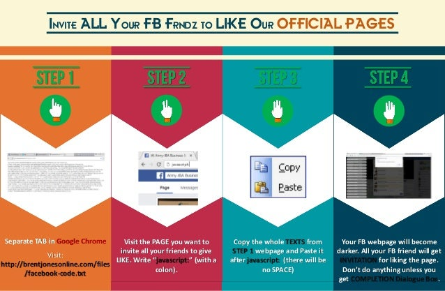 How To Invite All Friends In Fb To Like Fb Page