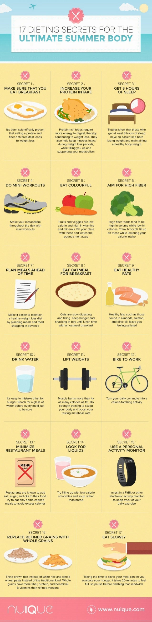 l7 DIETING SECRETS EOR THE  SECRET 1 I SECRET 2: SECRET 3: MAKE SURE THAT YOU INCREASE YOUR GET 8 HOURS PROTEIN INTAKE OF ...