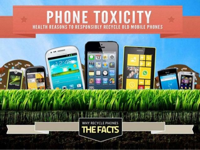 Toxic Mobile Phones: The Health Dangers