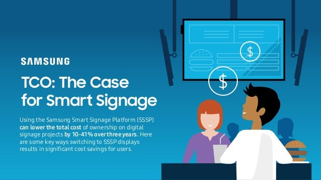 What Are the TCO Advantages of Smart Signage?