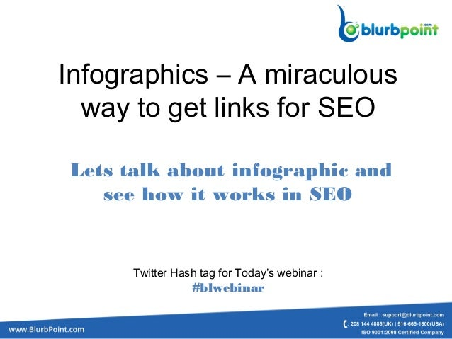 Infographics – A miraculous way to get links for SEO Lets talk about infographic and see how it works in SEO Twitter Hash ...