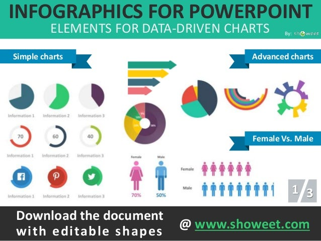 infographic template powerpoint free - charts infographics templates for powerpoint