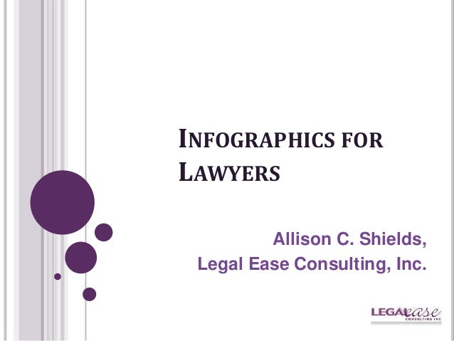 INFOGRAPHICS FORLAWYERSAllison C. Shields,Legal Ease Consulting, Inc.
