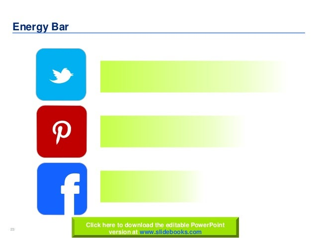 23 www.slidebooks.com23 Energy Bar fClick here to download the editable PowerPoint version at www.slidebooks.com
