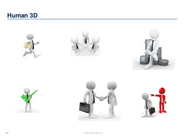 59 www.slidebooks.com59 Human 3D