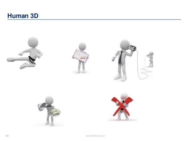 60 www.slidebooks.com60 Human 3D