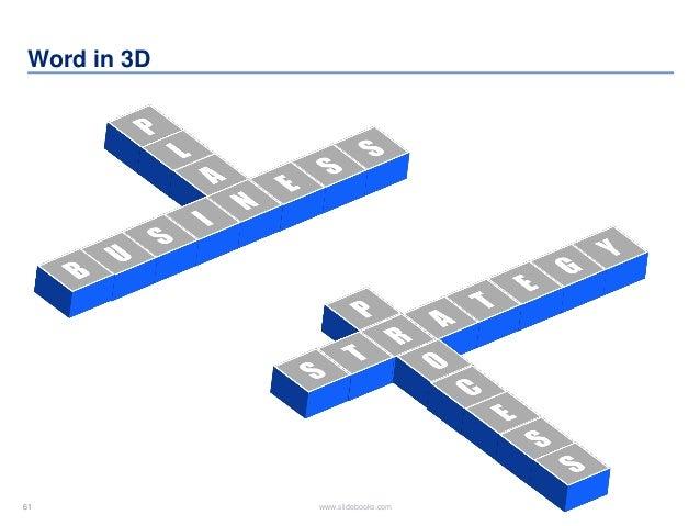 61 www.slidebooks.com61 Word in 3D