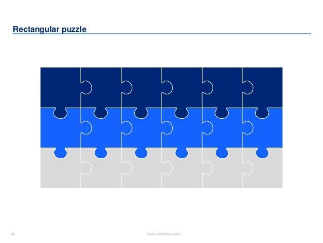 74 www.slidebooks.com74 Rectangular puzzle