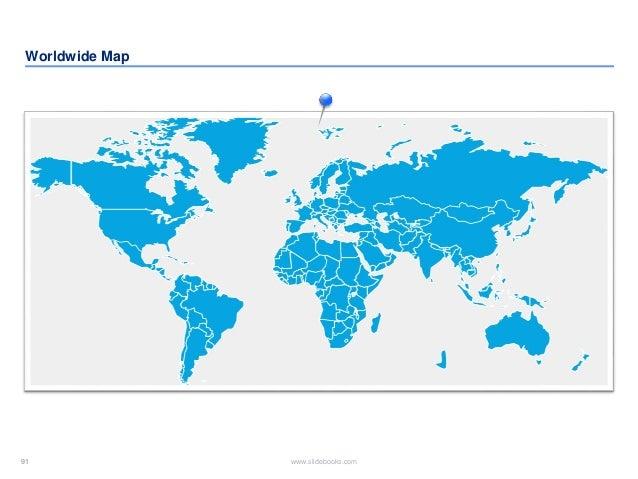 91 www.slidebooks.com91 Worldwide Map