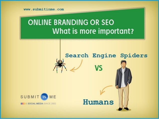 Online Branding Or SEO - What is most important?