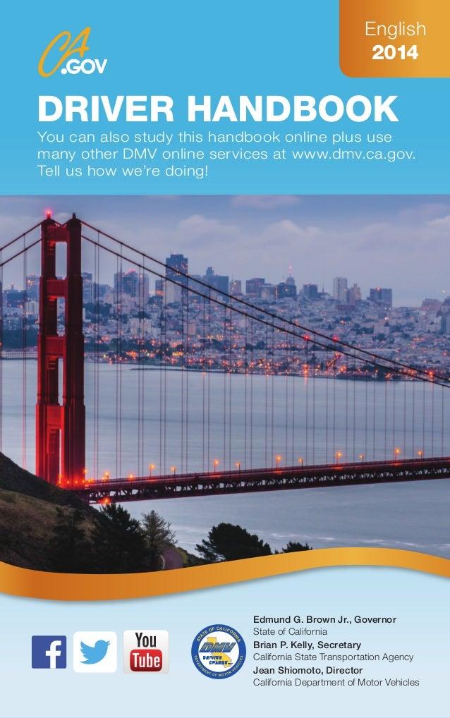 Dmv Hand Book