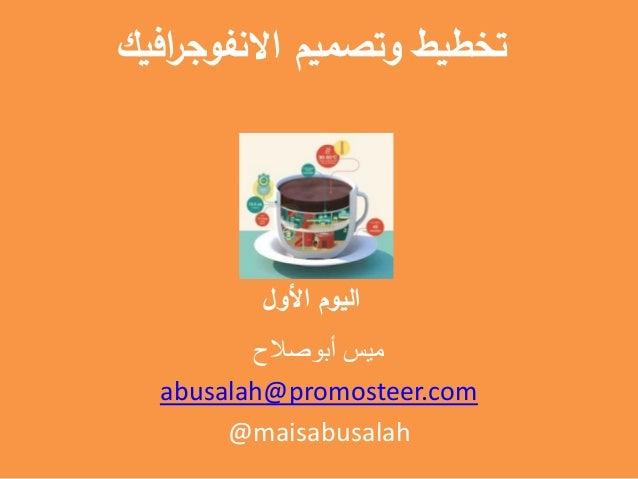 افيكراالنفوج وتصميم تخطيط األول اليوم أبوصالح ميس abusalah@promosteer.com @maisabusalah