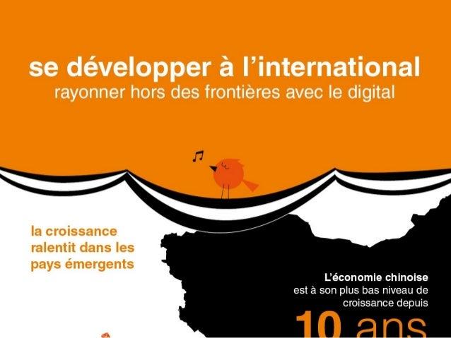 [infographie] : rayonner à l'international avec le digital