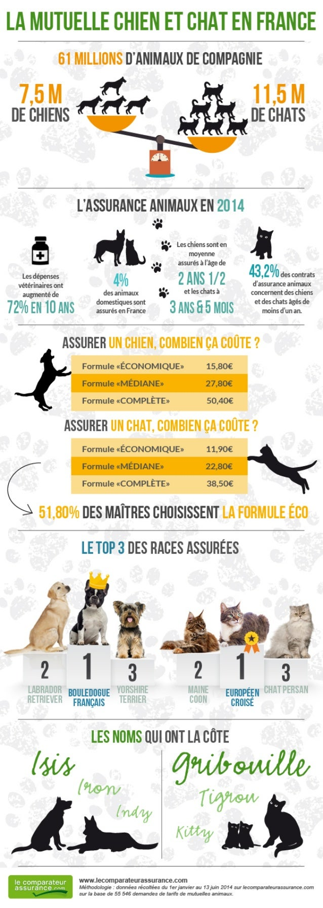 La mutuelle chien et chat en France