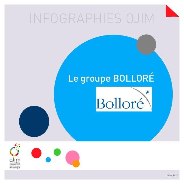 INFOGRAPHIES OJIM Mars 2017 Le groupe BOLLORÉ