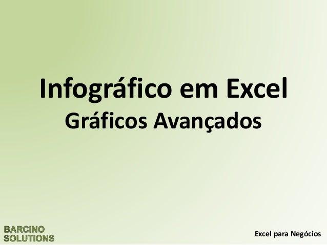 Excel para Negócios Infográfico em Excel Gráficos Avançados