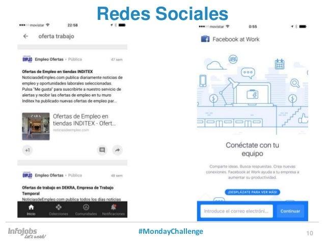 10 Redes Sociales #MondayChallenge