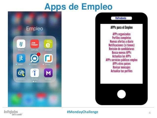 4 Apps de Empleo #MondayChallenge