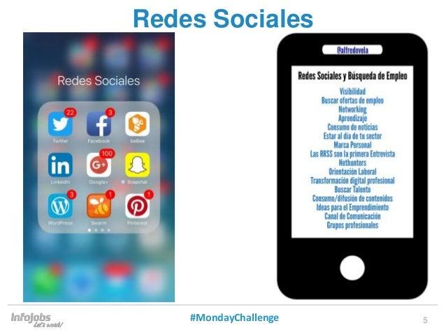 5 Redes Sociales #MondayChallenge