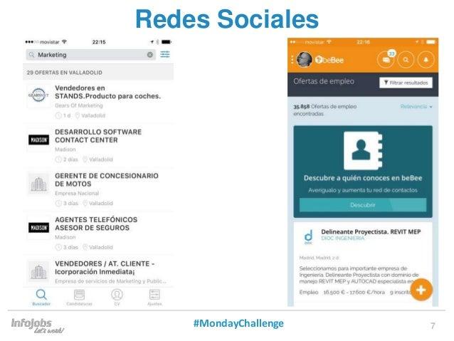 7 Redes Sociales #MondayChallenge