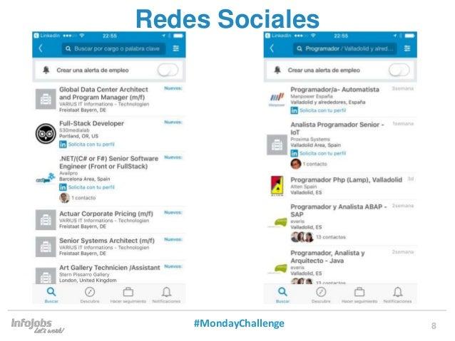 8 Redes Sociales #MondayChallenge