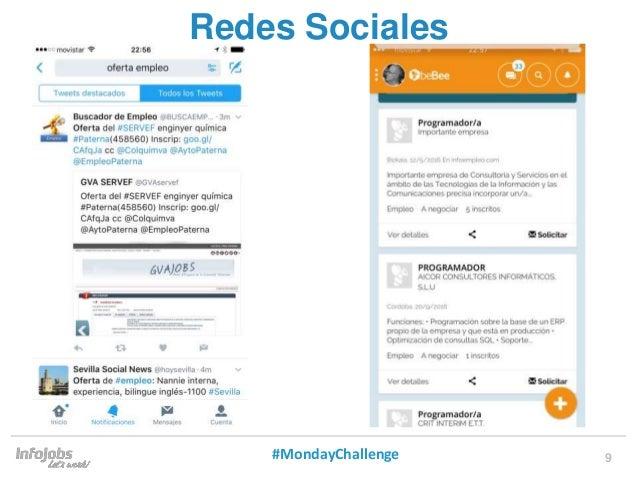 9 Redes Sociales #MondayChallenge