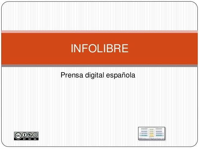 Prensa digital española INFOLIBRE
