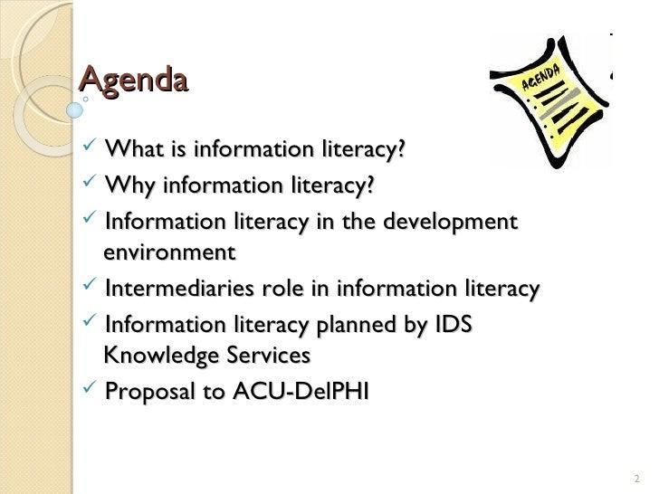 Information literacy presentation Slide 2