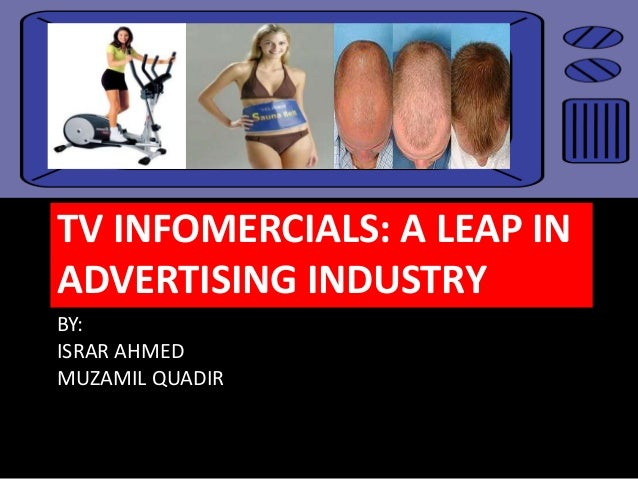 Infomercials and celebrity spokespeople list