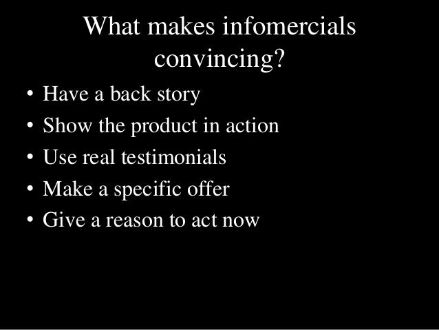 infomercial examples