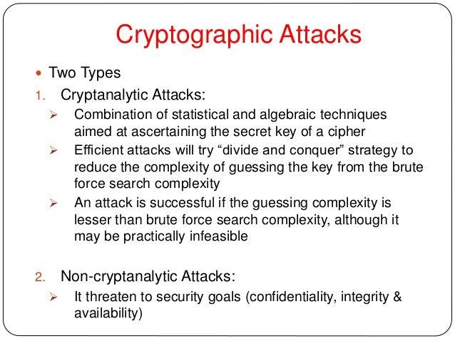 CRYPTOGRAPHIC ATTACKS EBOOK DOWNLOAD