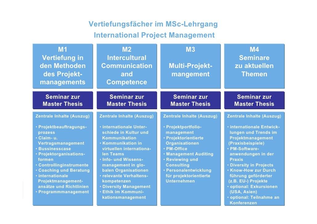 Master Sales - Infos zum Masterstudium