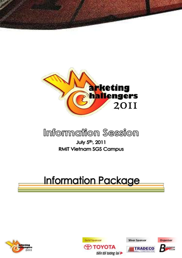 2178052437765Information SessionJuly 5th, 2011RMIT Vietnam SGS Campus<br />34506164010Information Package<br />-9220207084...