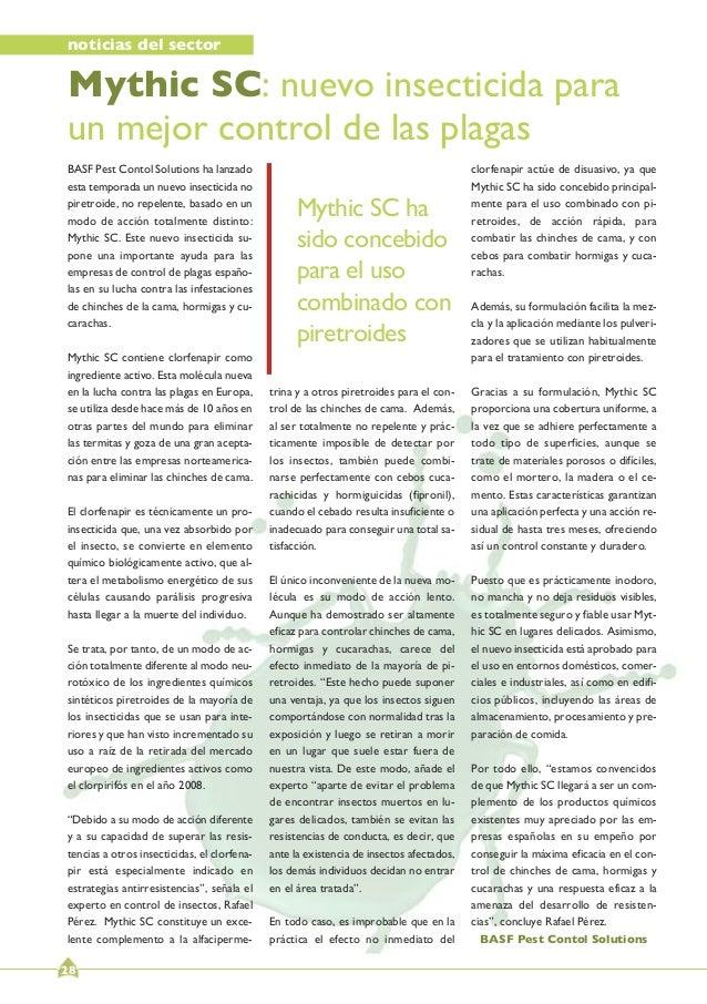 Revista oficial anecpla infoplagas n 51 jun 2013 for Ahorro total vallecas