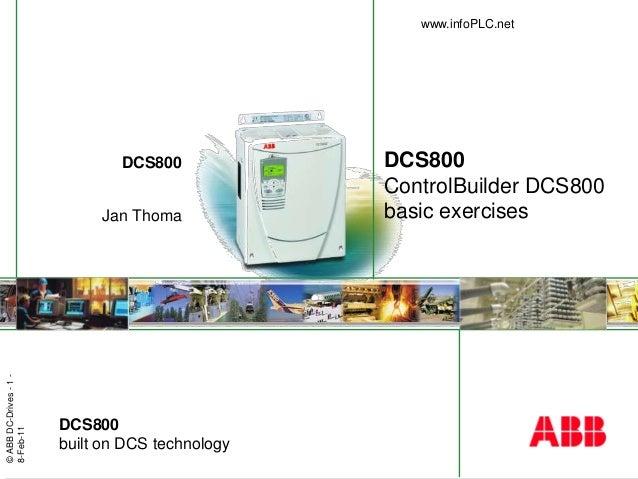 Info plc net_dcs800_controlbuilder_basic_exercises Dcs Drive Wiring Diagram Dc on