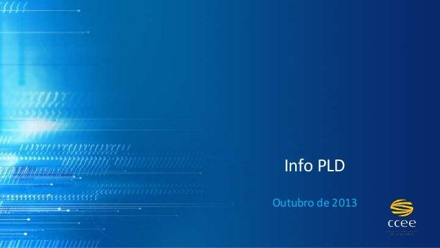 Info PLD Outubro de 2013