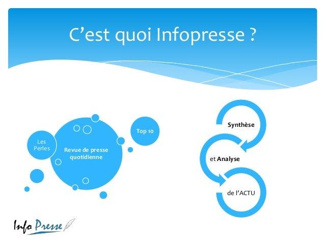 Infopresse, exemple d'innovation dans les médias ivoiriens Slide 2