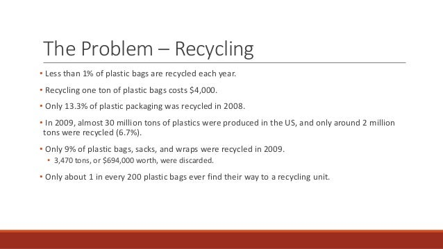 Problem with recycling