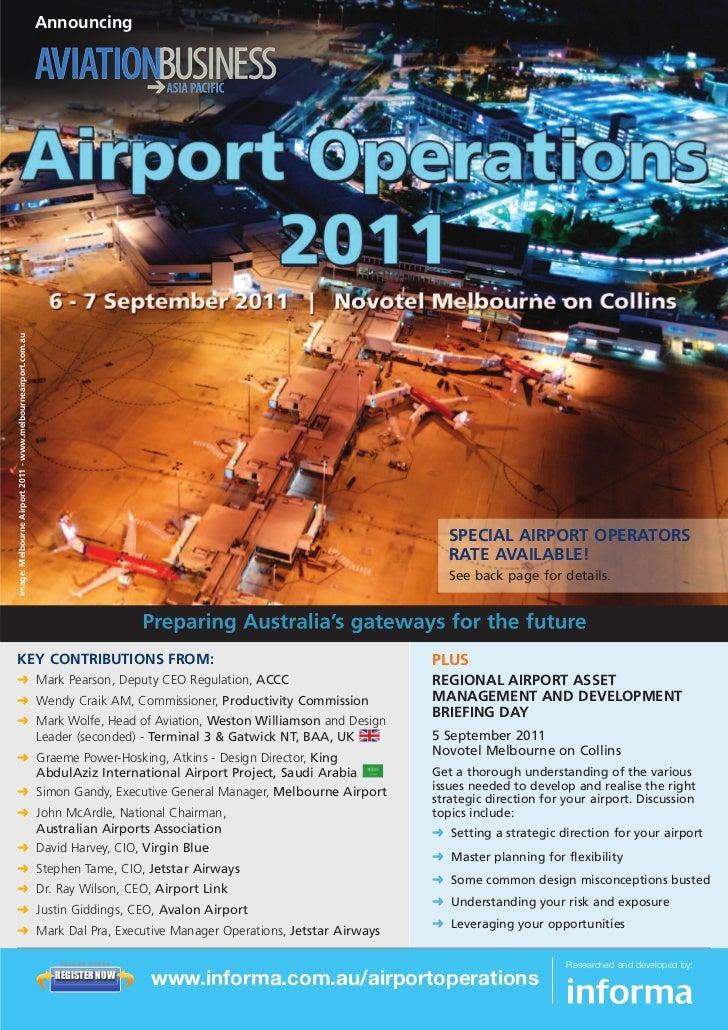Informa Airport Operations Brochure