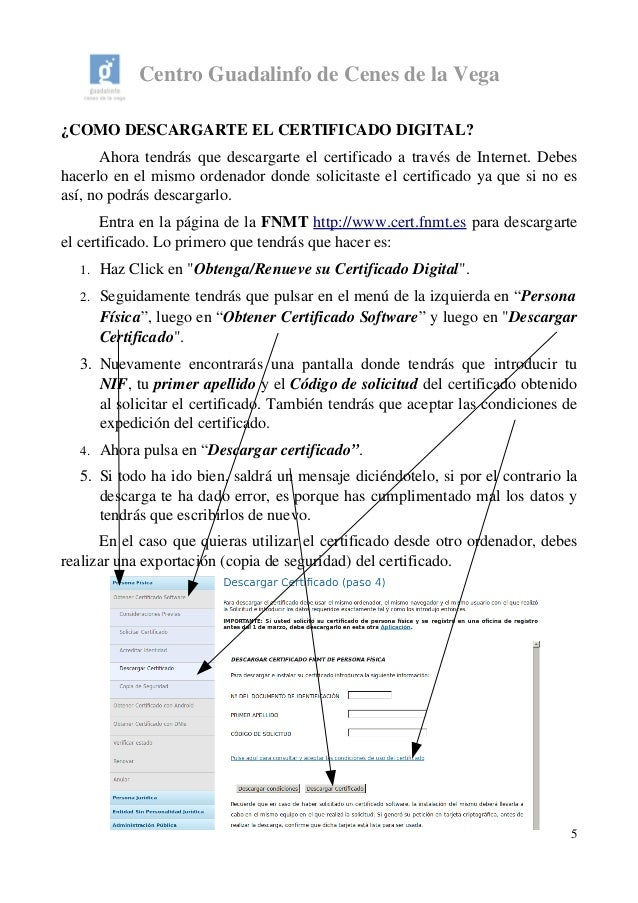 Informaci n certificado digital 2015 - Oficinas certificado digital ...