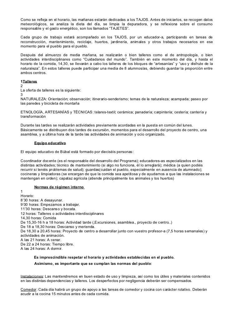 Información sobre el proyecto en búbal Slide 2