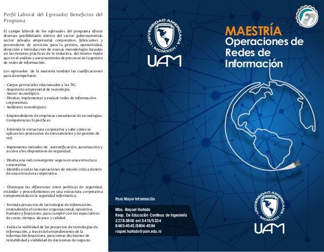 Para Mayor InformaciónMba. Raquel HurtadoResp. De Educación Continua de Ingeniería2278-3800 ext.5415/53348465-4545/8804-45...