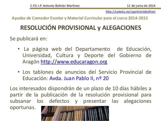 Beautiful Www Educaragon Org Becas Comedor Ideas - Casas: Ideas ...