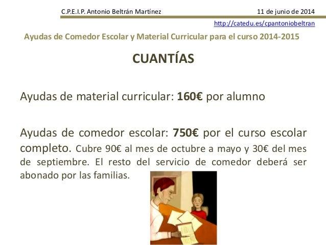 BECAS ARAGON CURSO 14 15