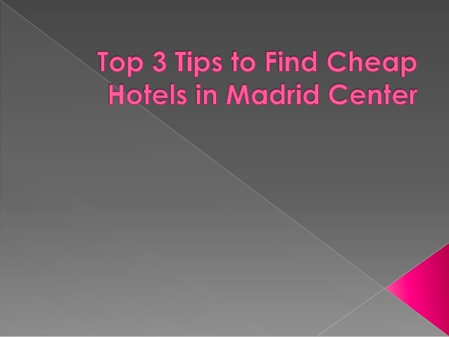 Now as the spring has some, it is the perfect time of the year to plan a vacation to Madrid– one of the most vibrant and b...
