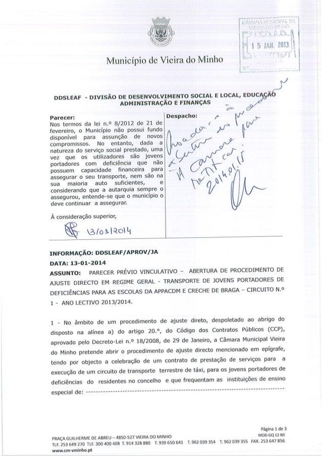 Reunião de Câmara 23/01/2014 - Ponto 15