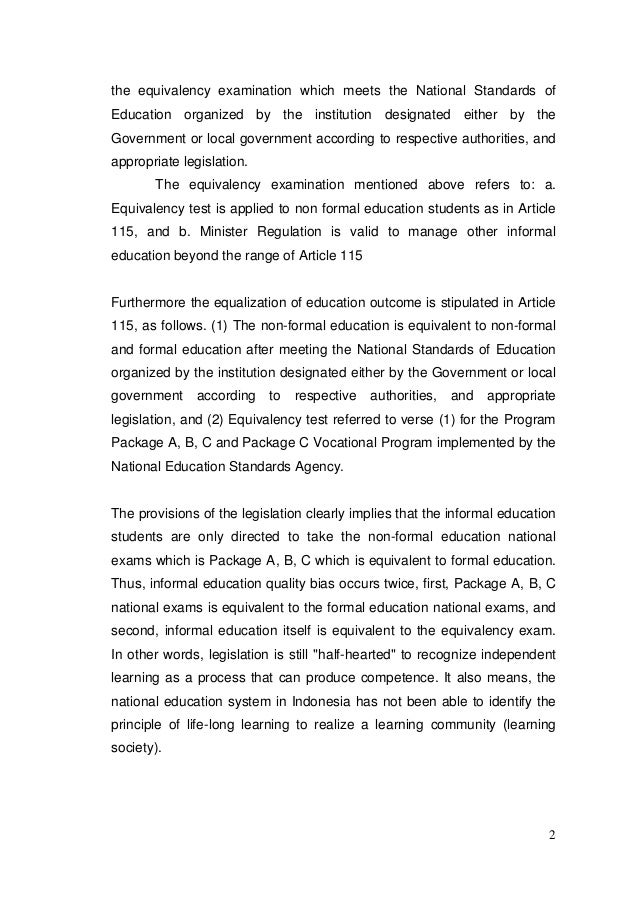role of education in national development essay