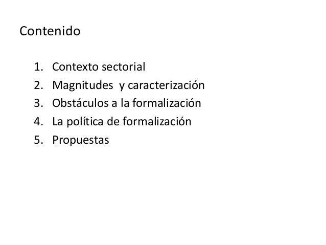 Informalidad laboral cafetera seminario DNP julio 10 2014 Slide 3