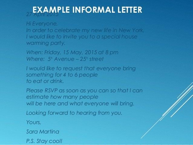 Informal Letter M Van Eijk